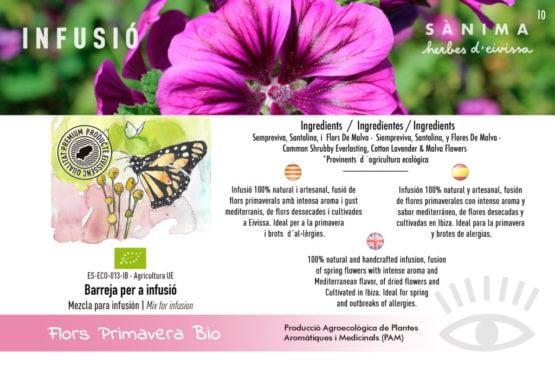 Infusion flower spring asma alergiescalidad natural ecologico ibiza