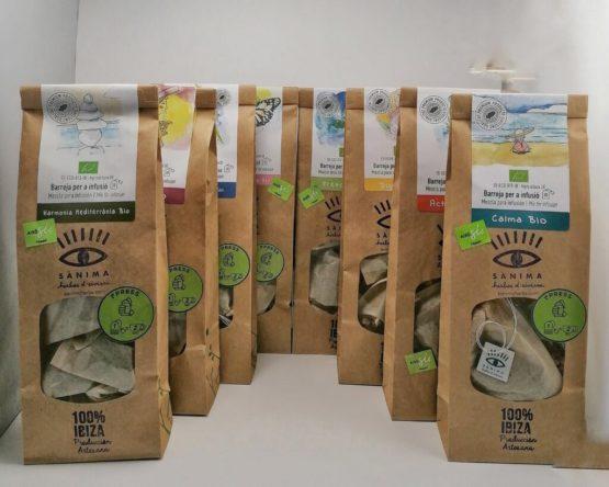 infusiones ecológicas naturales de ibiza producto local