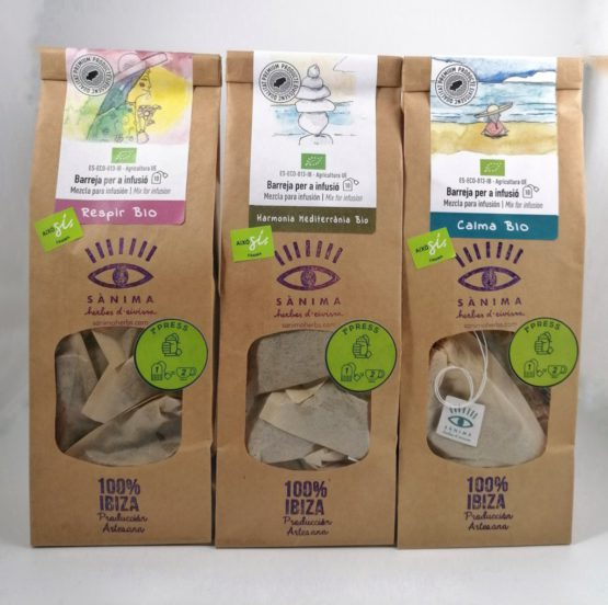 paz interior equilibrio pack infusiones naturales ibiza local ecologico