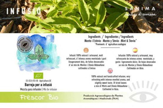 Infusion frescor mojito stevia mint calidad natural ecologico ibiza