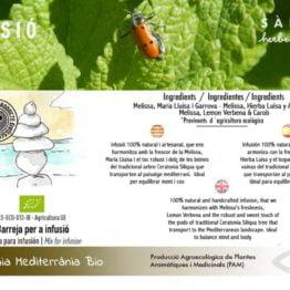 Infusion harmony mediterranean carbom lemon verbenecalidad natural ecologico ibiza