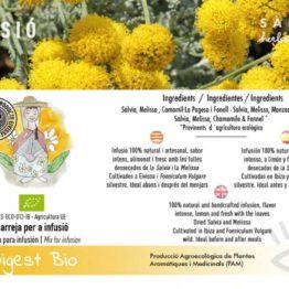 Infusion digestive calidad natural ecologico ibiza