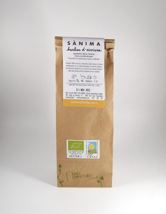 digest bio infusion sànima herbs natural ecologica producto local ibiza